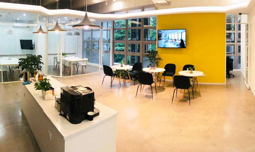 That's Mandarin Shenzhen Campus lounge