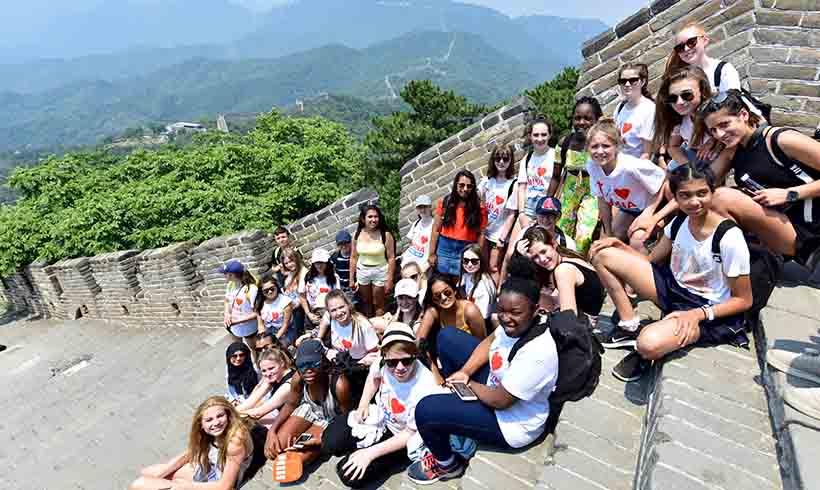 Summer Chinese Camp Beijing Great Wall   That's Mandarin