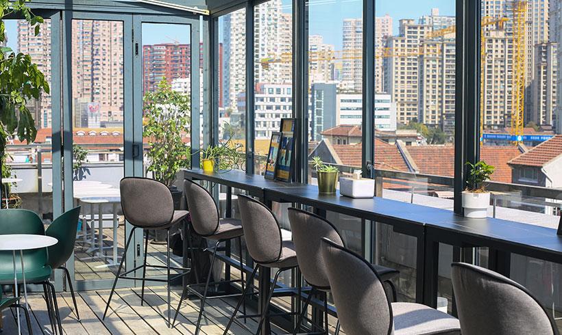 Wuding Road Campus Terrace | That's Mandarin Shanghai